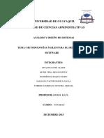 Metodologias Agiles en El Desarrollo de Software