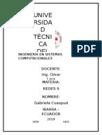 Estructura Red Jerárquico