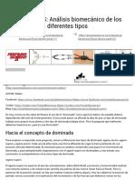 DOMINADAS_ Análisis Biomecánico de Los Diferentes Tipos