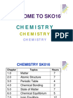 Chemistry Malaysian Matriculation Full Notes & Slides for Semester 1 and 2
