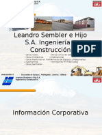 Constructor a Leandro Semble r