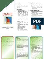 186981473 Leaflet Diare Pada Anak