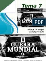 Prof. Hernán Ochoa - Presentación - La Segunda Guerra Mundial