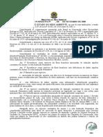Instrução Normativa MMA Nº 06 de 23 de Setembro de 2008