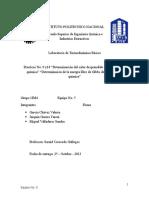 Reporte de Practica de Termo 9 y 10
