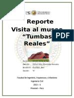 Reporte Tumbas Reales