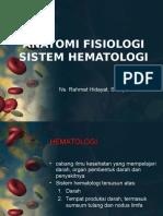 Anatomi Fisiologi Sistem Hematologi