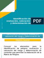 Presentacion Idetificacion de peligros y evaluacion de riesgos colmena