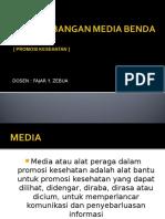 Pengembangan Media Benda