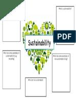 sustainabilty group handout