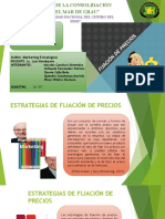 ESTRATEGIAS PARA REALIZAR AJUSTES DE PRECIO - REGION CENTRO