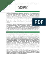 PLAN de TRABAJO REA 2016-17 Coherencia Universitaria