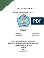 MAKALAH ILMU ALAMIAH DASAR 3.docx