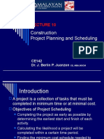 Lecture 10- Project Planning and Scheduling