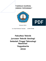 Cover Praktikum Geofisika