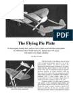 Pie Plate - a Free-Flight Model Airplane