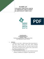 5. Panduan Pencegahan Tertusuk Jarum