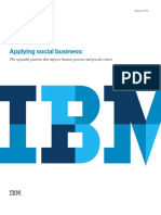 Applying Social Busines_ the Repeatable Patterns That Improve Business Processes and Provide Return