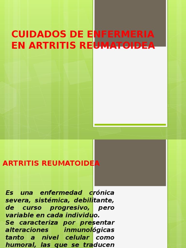 Cuidados De Enfermeria En Artritis Reumatoidea Artritis Reumatoide Medicina