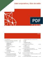 Manual de Identidad Corporativa y Libro de Estilo de Forem