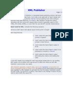 XML Publisher Tutorial