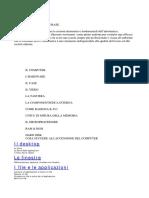 CORSO INFORMATICA DI BASE + Comandi MS-DOS