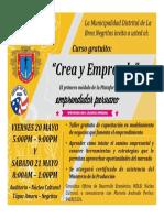 Emprendedor Peruano_Crea y Emprende_Volante