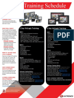 Training Seminar Schedule-Web