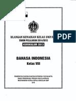 Soal UKK B.indonesia Kelas 8