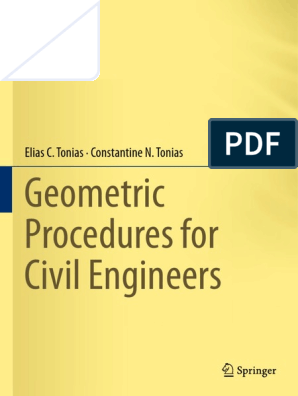 Geometric Procedures for Civil Engineers | Tangent | Circle