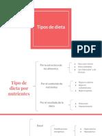 Tipos de Dieta
