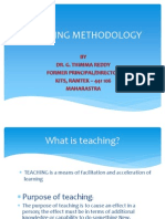 Teaching Methodology