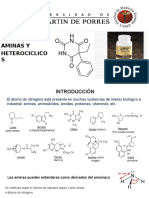 Clase Amina y Heterociclicos USMP