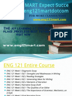 ENG 121 MART Expect Success Eng121martdotcom