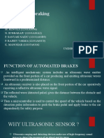 Automated Braking System
