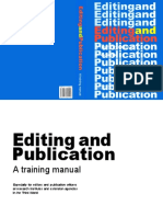 Editing and Publication