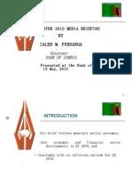 BOZ Quarterly Brief - Presentation (Q1 2010)