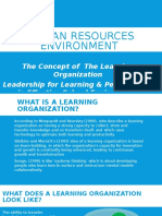 9.0 (the Concept of Learning Organization)