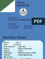 Presentasi Kasus Sindrom Nefrotik Interna