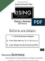DECA EGB- Rising Lifestyle