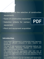 contruction equipment mngnmnt