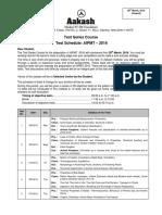 Test Schedule 28 March Code b