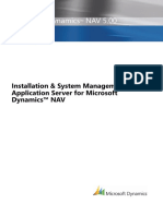 INSTALLATION & SYSTEM MANAGEMENT: