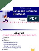 Language Learning Strategies 119955650040400 3
