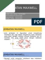 Jembatan Maxwell Kelompok 8 A