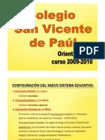 Orientacion 2009-2010