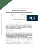 Neural Turing Machinev2