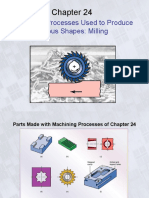 Ch24 Machining Processes Used to Produce Various Shapes Milling