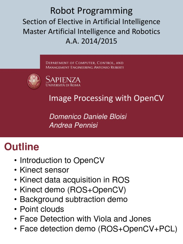 Image Processing With Opencv | Areas Of Computer Science | Tecnologia