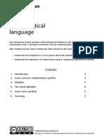 1) Mathematical Language.pdf